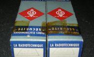 RTC 12 AU 7WA - RTC - Tubes Signal