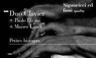 fonè - Duo Clavier Petites histoires - fonè - CD
