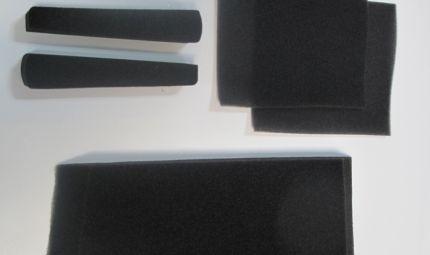 Kit mousses pour casques ERGO (tous) - HEIL AMT