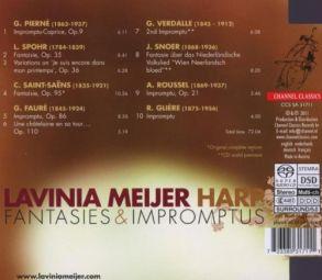 Lavinia Meijer - Fantasies and Impromptus - Channel Classics