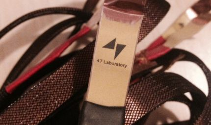 47 Lab 4719 Speaker Cable (-30%) - 47 Laboratory