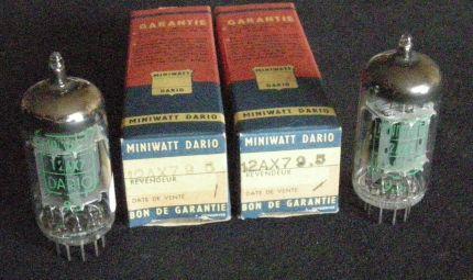 MINIWATT DARIO 12AX7 - Philips