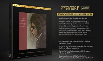 Bob Dylan - Blood on the Tracks - MFSL